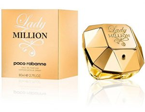 Most Iconic Colognes and Perfumes for Men and Women - Lady Million by Paco Rabanne Eau De Parfum Spray for Women
