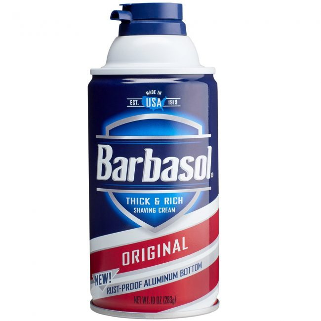 gifts for men with beards - Barbasol Original Thick and Rich Cream Men Shaving Cream