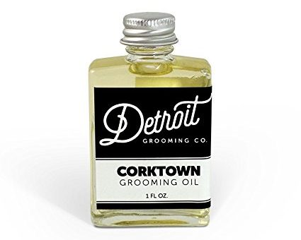 gifts for men with beards - Detroit Grooming Co. Grooming Oil