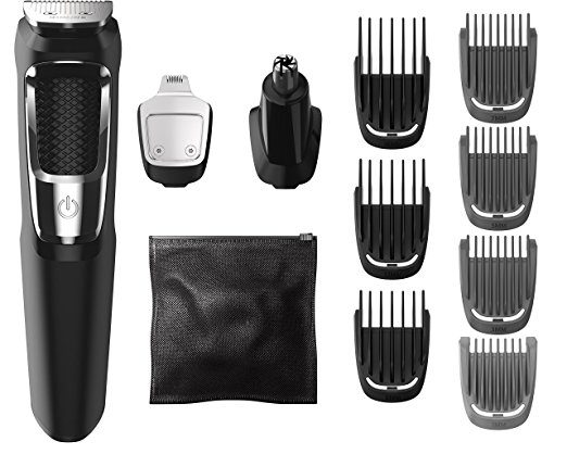 gifts for men with beards - Philips Norelco Multigroom Series 3000