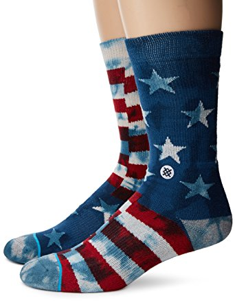 Stance Socks Review - mens banner crew