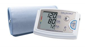 best blood pressure monitor review - LifeSource Blood Pressure Monitor.