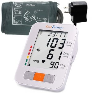 best blood pressure monitor review - LotFancy Blood Pressure Monitor.