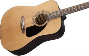 best acoustic guitar review - Fender FA-100 Dreadnought Acoustic Guitar
