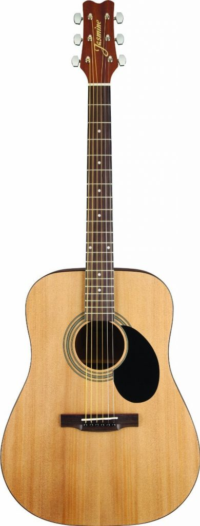 best acoustic guitar review - Jasmine S35 Acoustic Guitar, Natural