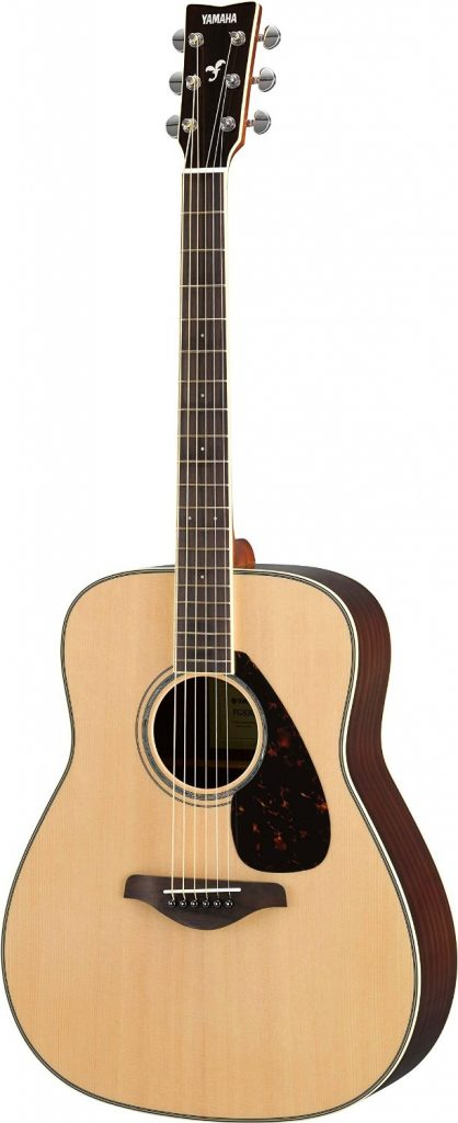 best acoustic guitar review - Yamaha FG830 Solid Top Acoustic Guitar