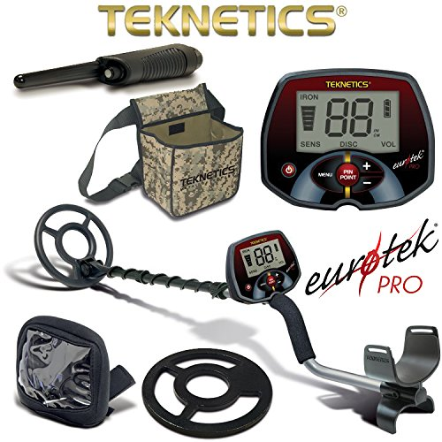 best metal detector review - Teknetics EuroTek Pro