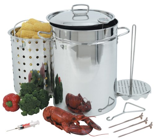 best turkey fryer review - Bayou Classic 1118 32-Quart Stainless Steel Turkey Fryer