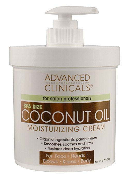 natural mens skin care - Advanced Clinicals Coconut Oil