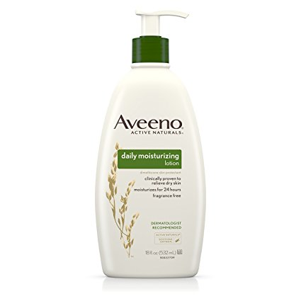 natural mens skin care - Aveeno Daily Moisturizing Cream
