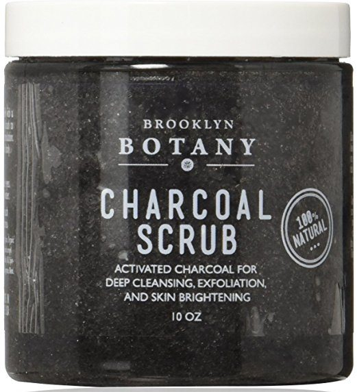 natural mens skin care - Charcoal Body Scrub