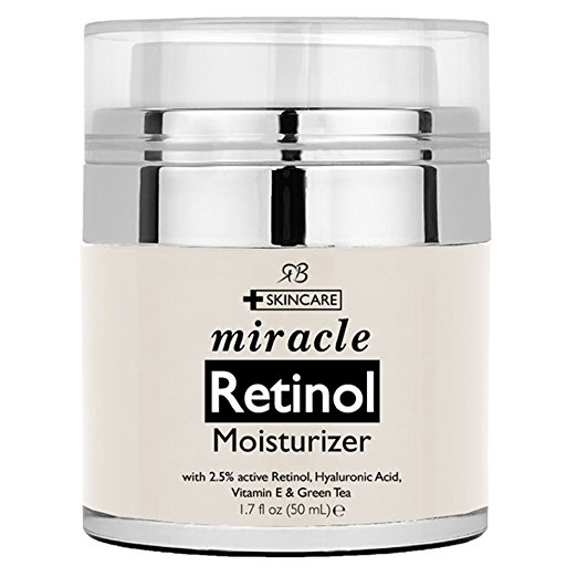 natural mens skin care - Radha Beauty Retinol Moisturizer