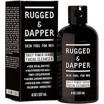 natural mens skin care - Rugged Dapper Organic Scrub