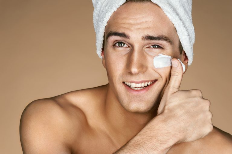 mens grooming habits - good skin