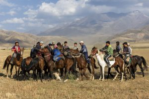 top ten weirdest sports - Buzkashi