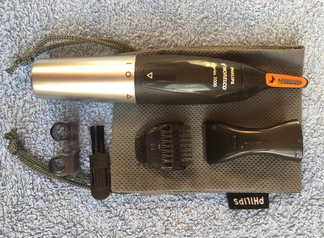 Philips NT5175_49 Norelco Nose trimmer 5100 - best Nose and ear Hair Trimmer