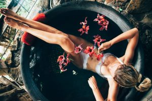 The Luxury Life - spa and flowers