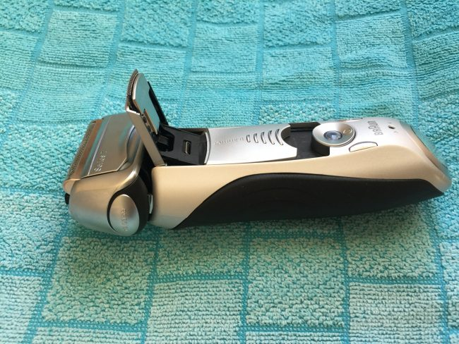Braun Series 7 - pop up trimmer