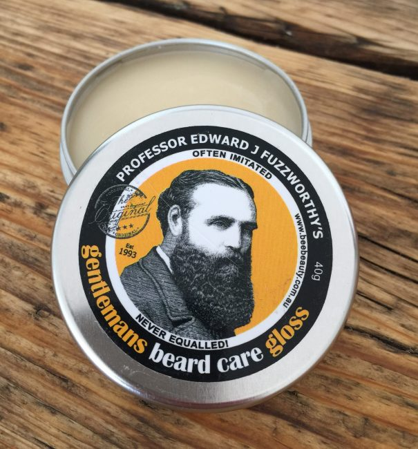 Best Beard Wax and Mustache Wax - professor edward j fuzzworthys beard care gloss