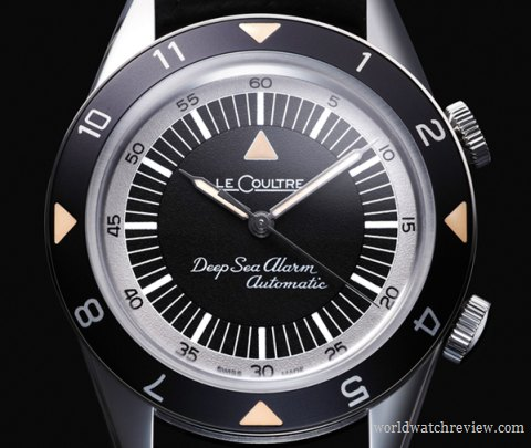 Jaeger-Le Coultre Memovox Tribute to Deep Sea Automatic Alarm Diver-American