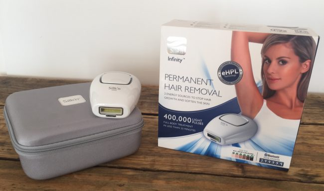 best at home laser hair removal - Silk n Infinity 400000 - front