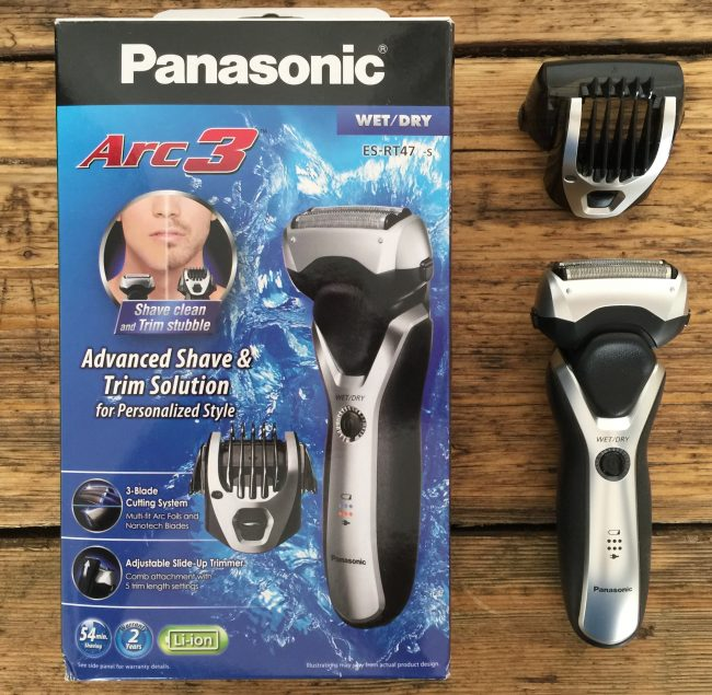 best electric head shaver - Panasonic Arc3 Electric Razor ES-RT97-S