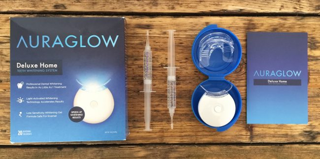 best teeth whitening - AuraGlow Teeth Whitening Kit