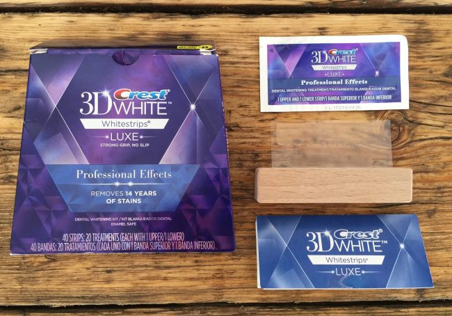 best teeth whitening - Crest 3D White Professional Effects Whitestrips Dental Teeth Whitening Strips Kit