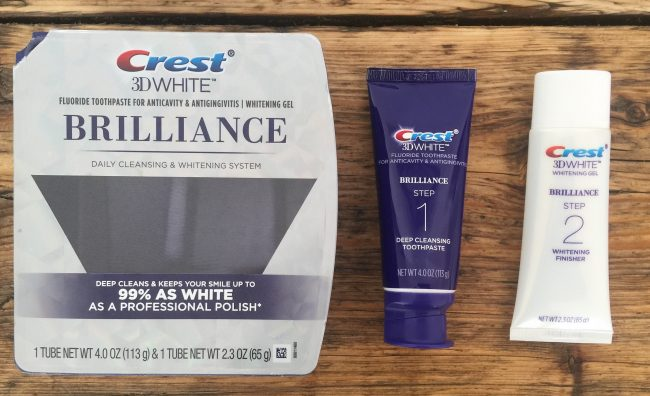 best teeth whitening - crest 3d white brilliance