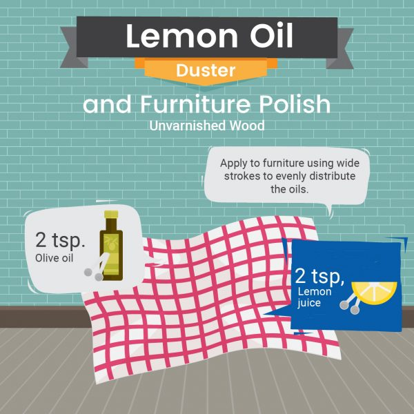 Natural UnVarnished Wood Furniture Polish Recipe - Green and Natural Cleaning