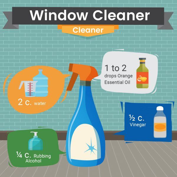 Natural Window Cleaner Recipe - Green and Natural Cleaning