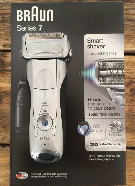 Braun Series 7 - on box