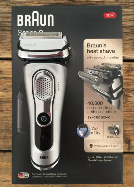 Braun Series 9 - on box