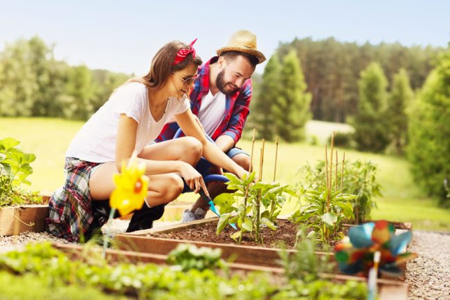 gift items - gardening - couple gardening