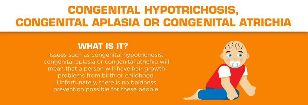 Understanding Hair Loss in Men - Congenital Hypotrichosis