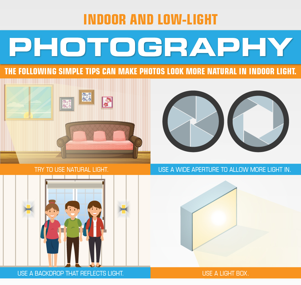 Indoor and Low-Light Photography Tips