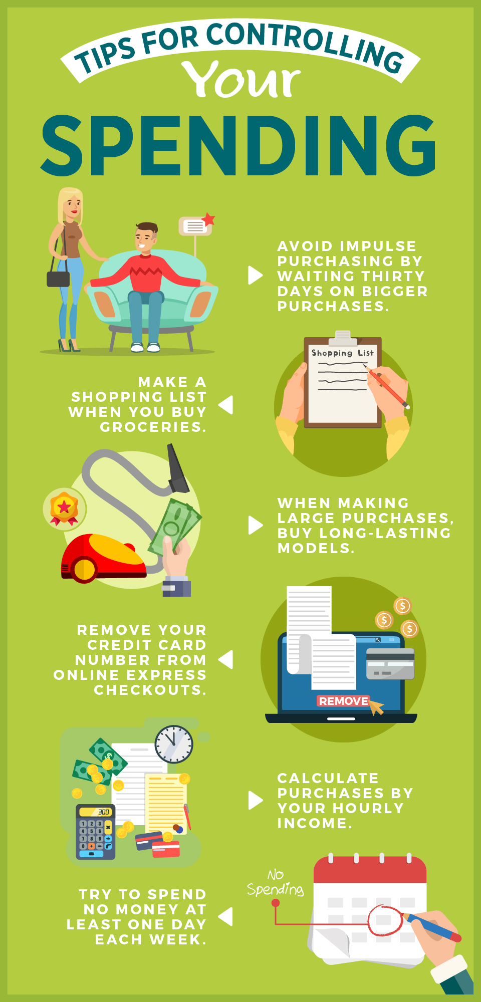 Tips for Controlling Your Spending