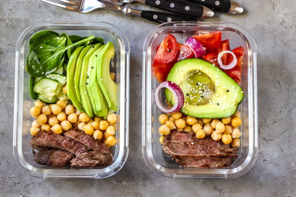 healthy meal preparation and planning