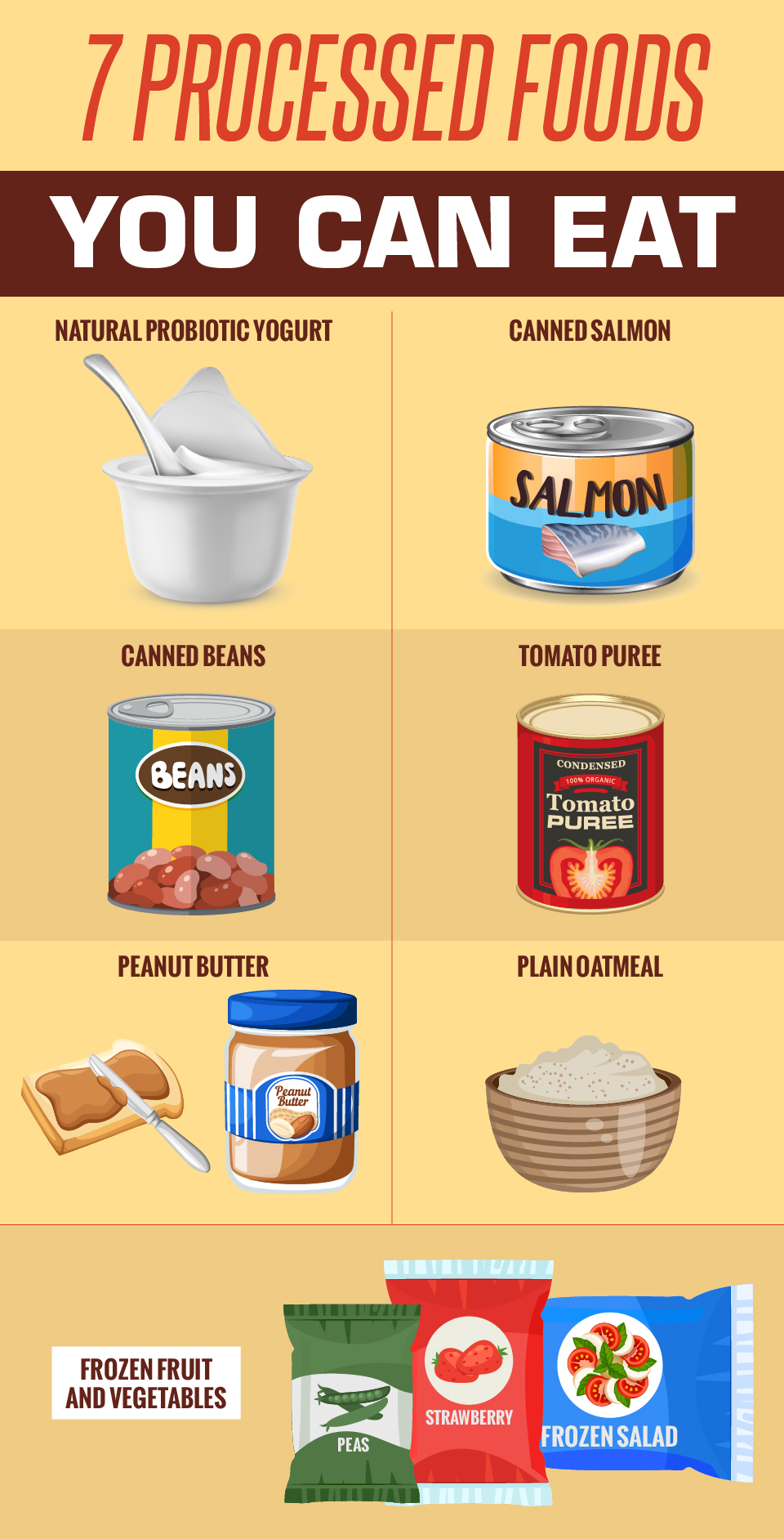 7 Processed Foods You Can Eat