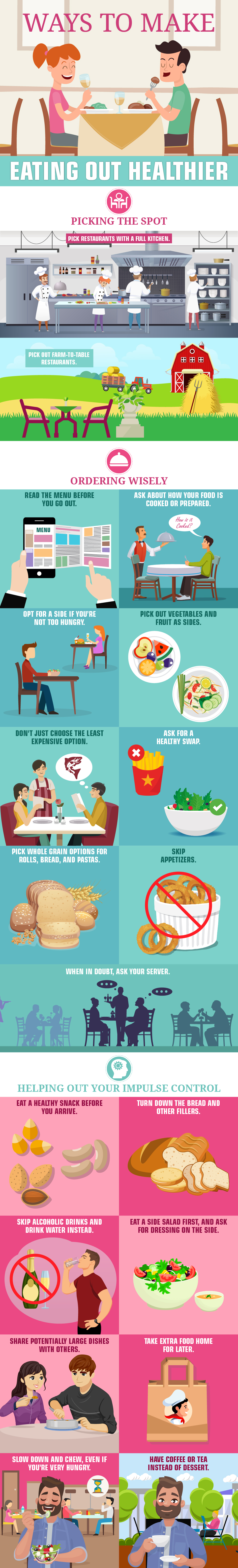 Ways to Make Eating Out Healthier