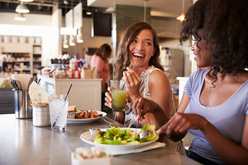 eating out and healthy food options