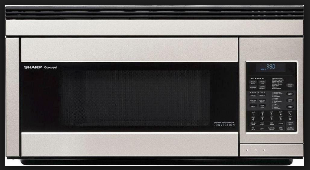 Sharp R1874T Over-the-Range Convection Microwave