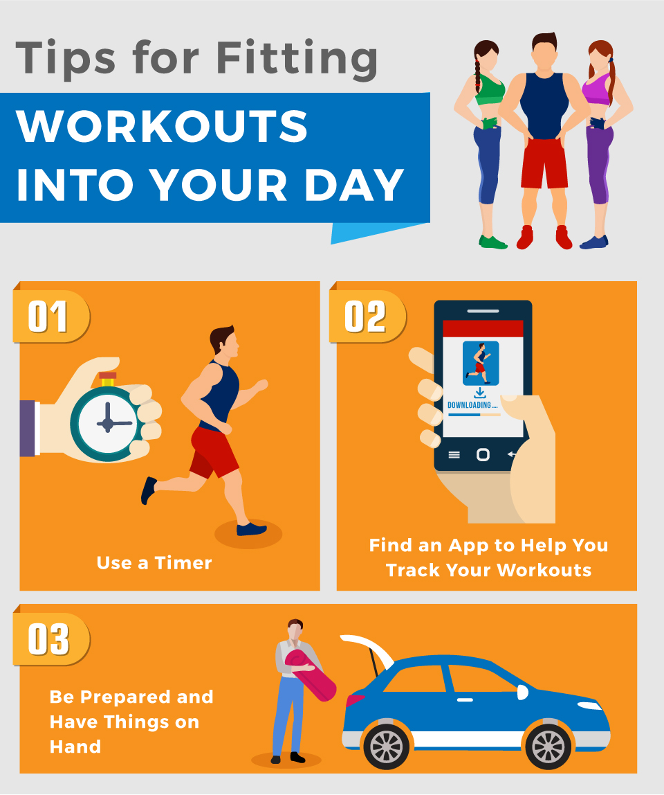 Tips for Fitting Workouts Into Your Day