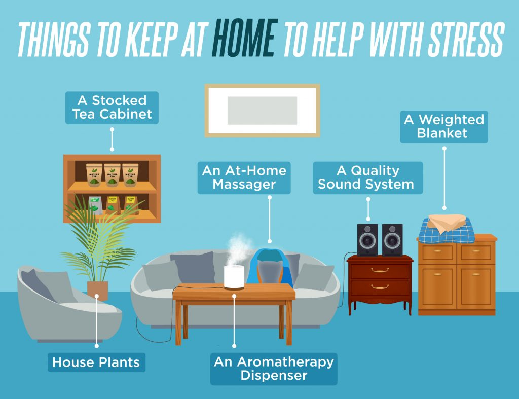 Things to Keep at Home to Help With Stress