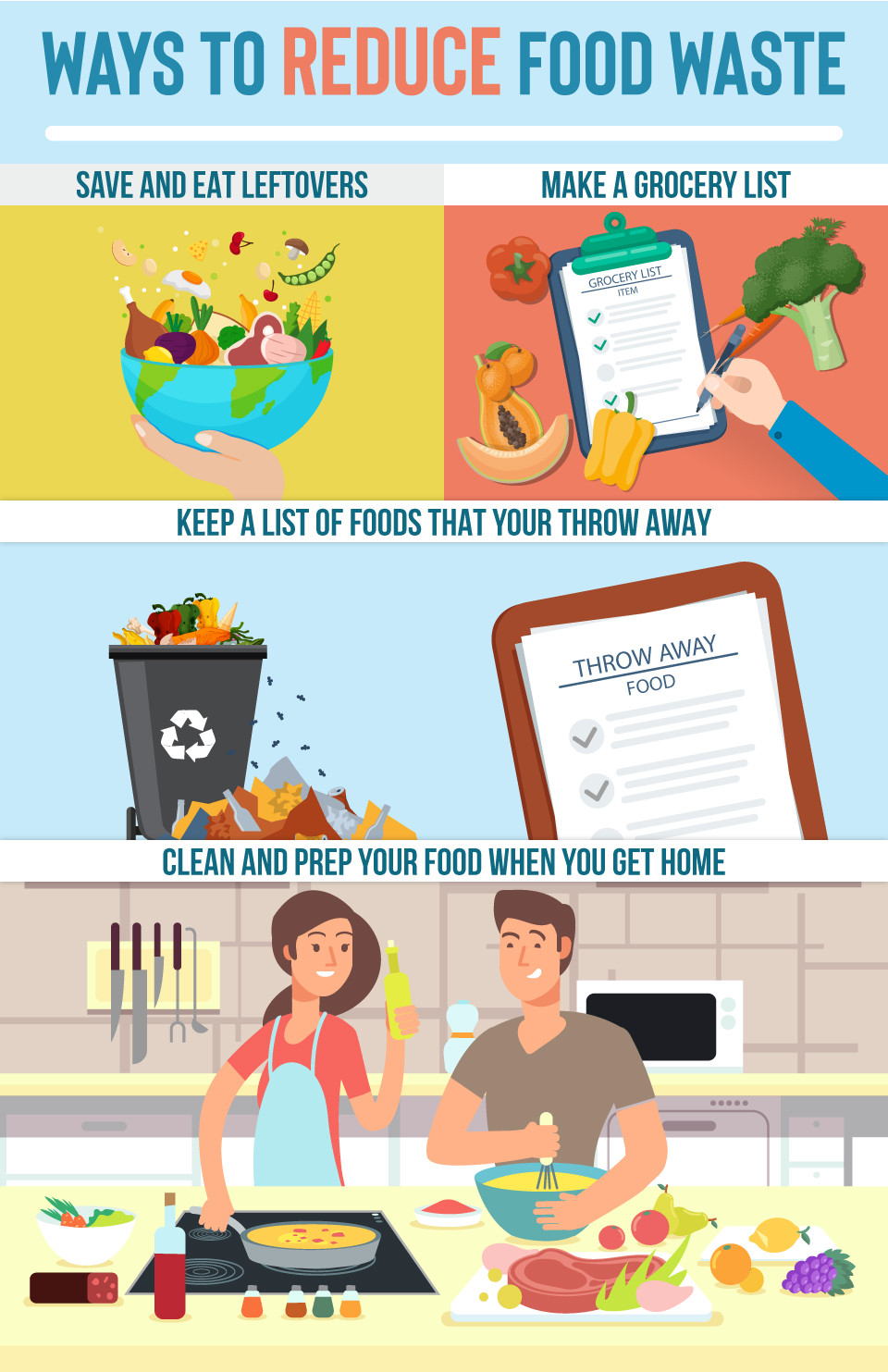 Ways to Reduce Food Waste