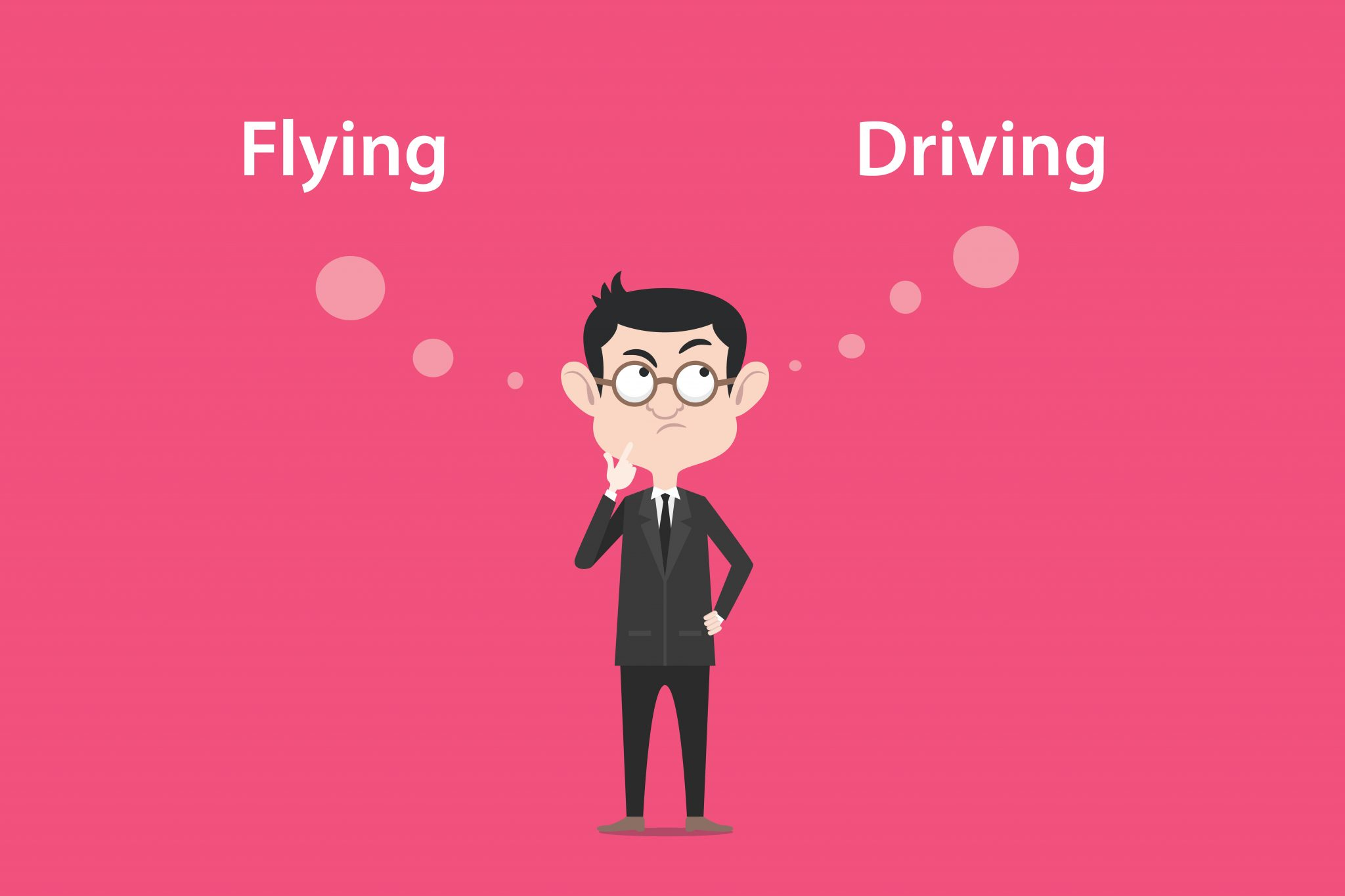 driving vs flying