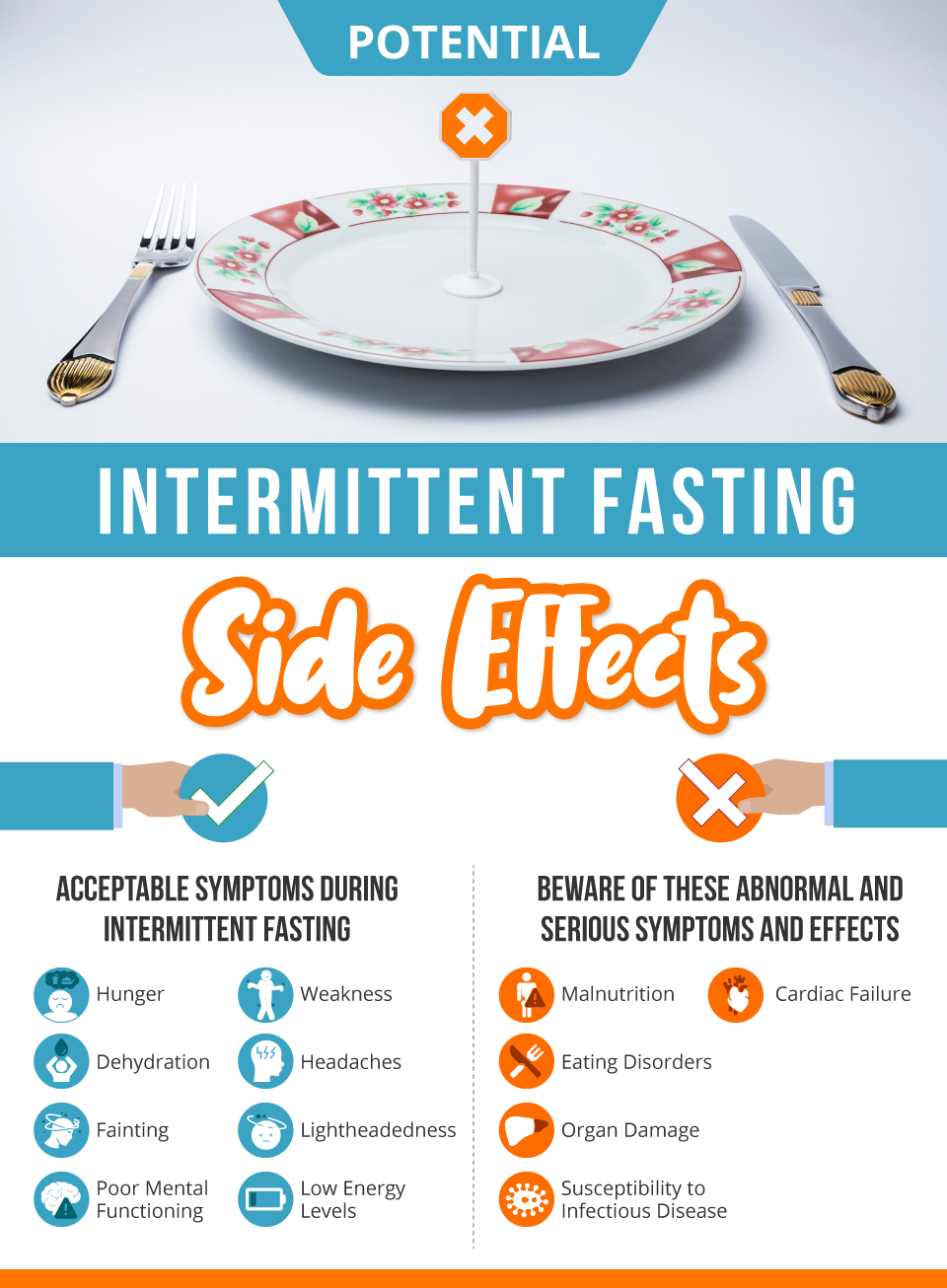 Potential Intermittent Fasting Side Effects