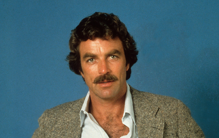 Tom Selleck Mustache