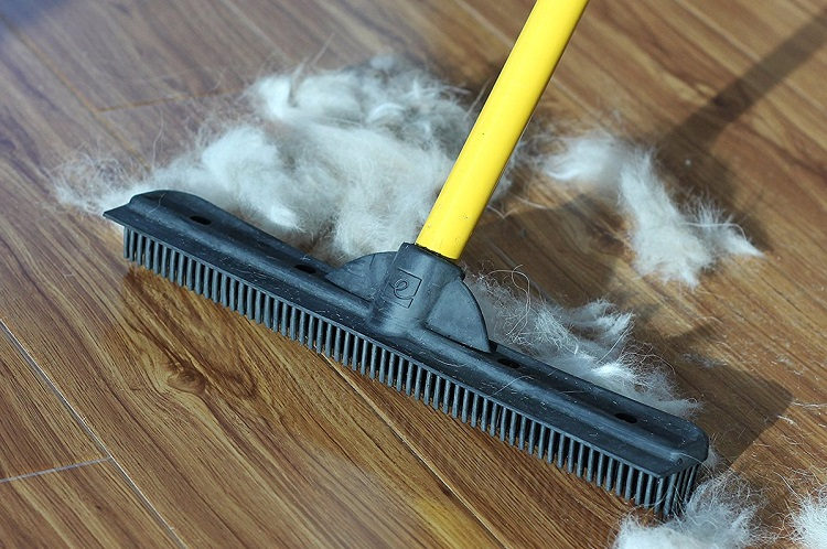 Cleaning Hairs From The Floor