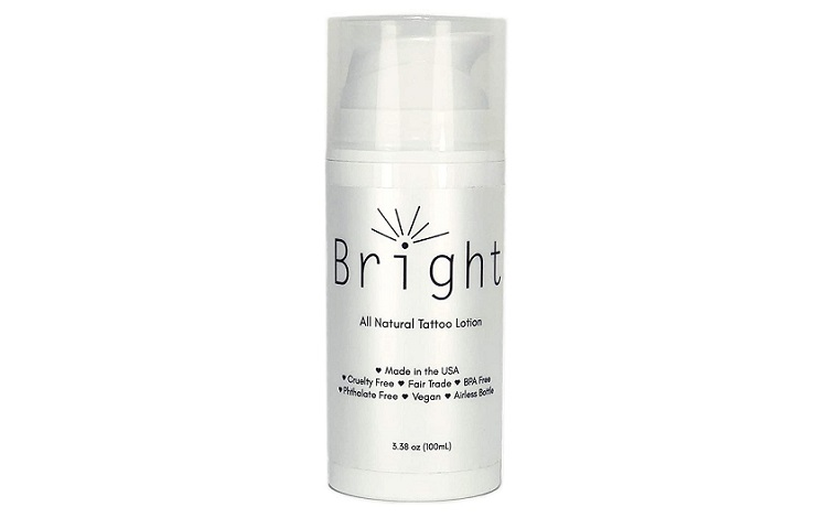 Bright All Natural Tattoo Lotion Review